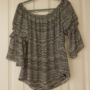 WHBM off the shoulder top NWOT